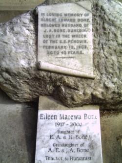 Eileen Bone's Grave